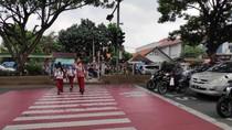 Dishub Depok Sosialisasikan Pelican Crossing di Jalan Margonda