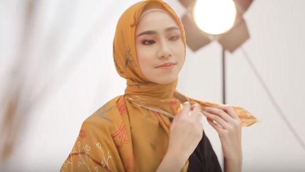 Tutorial Hijab Motif Terbaru 2019, Hanya Pakai 1 Jarum Pentul