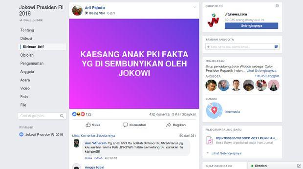 Kaesang dituduh netizen 'anak PKI'