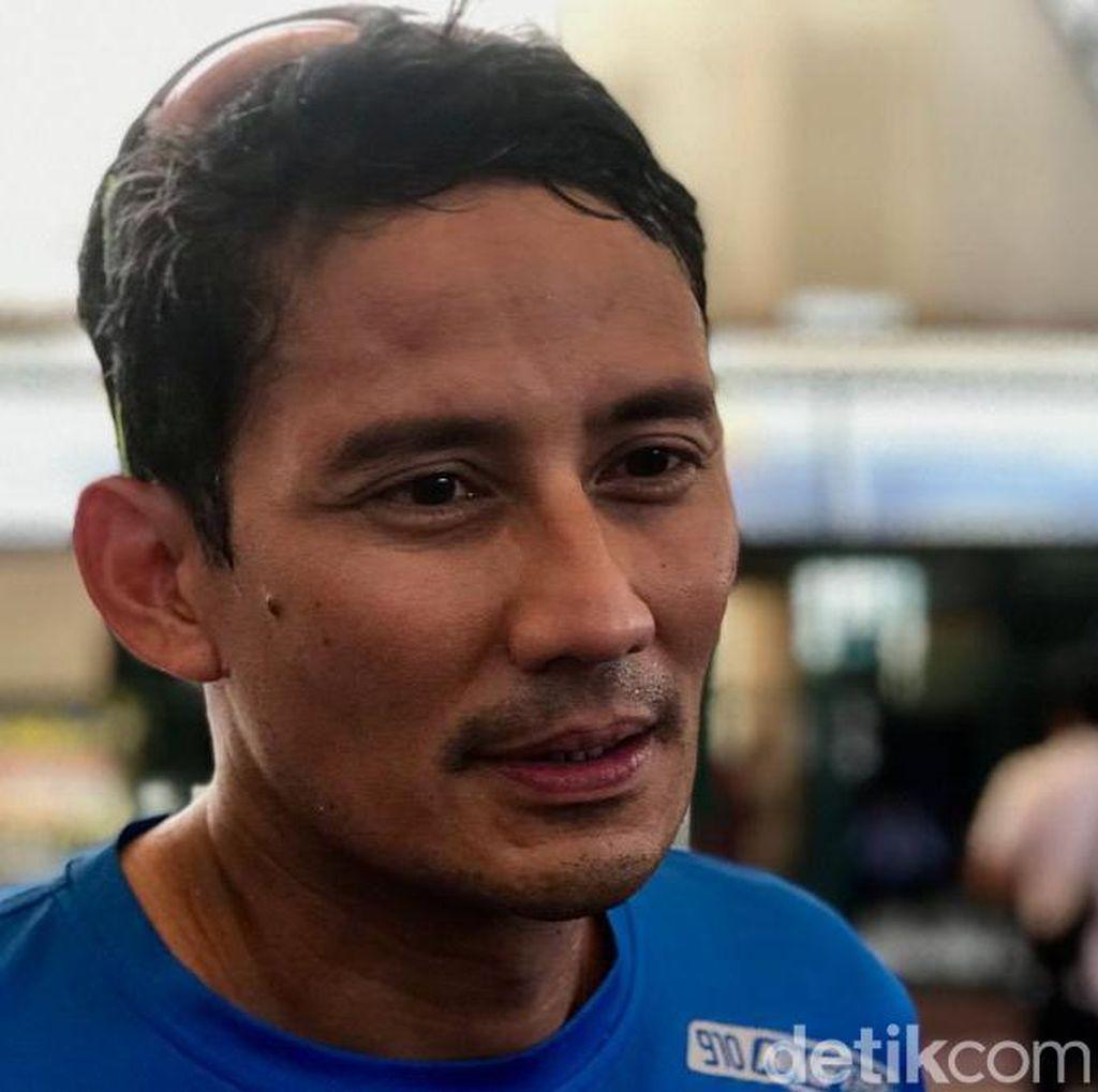 Potensi Pelanggaran Prabowo Bicara Visi di TV Disoal, Sandiaga Sindir KPU