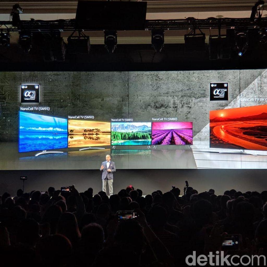 Jajaran Televisi AI LG Siap Serbu Indonesia