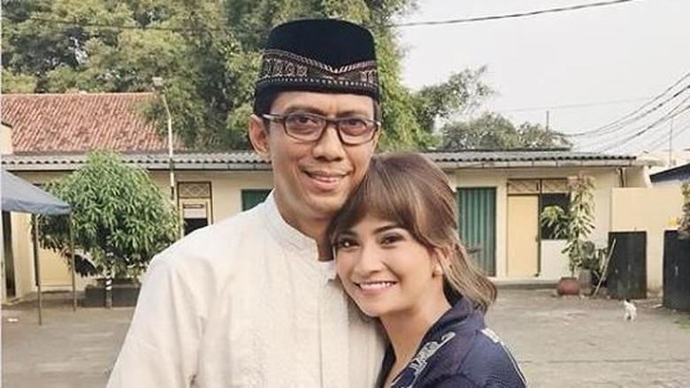 Vanessa Angel dan Sang Ayah/ Foto: Instagram @vanessaangelofficial