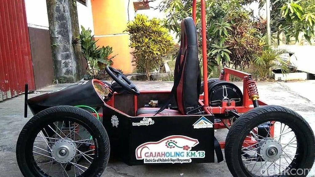 Keren! Begini Penampakan Mobil Listrik Made In Banyuwangi