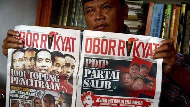 La Nyalla mengaku sempat membantu menyebarkan Tabloid Obor Rakyat, yang petingginya sudah divonis bersalah dalam kasus hoaks.