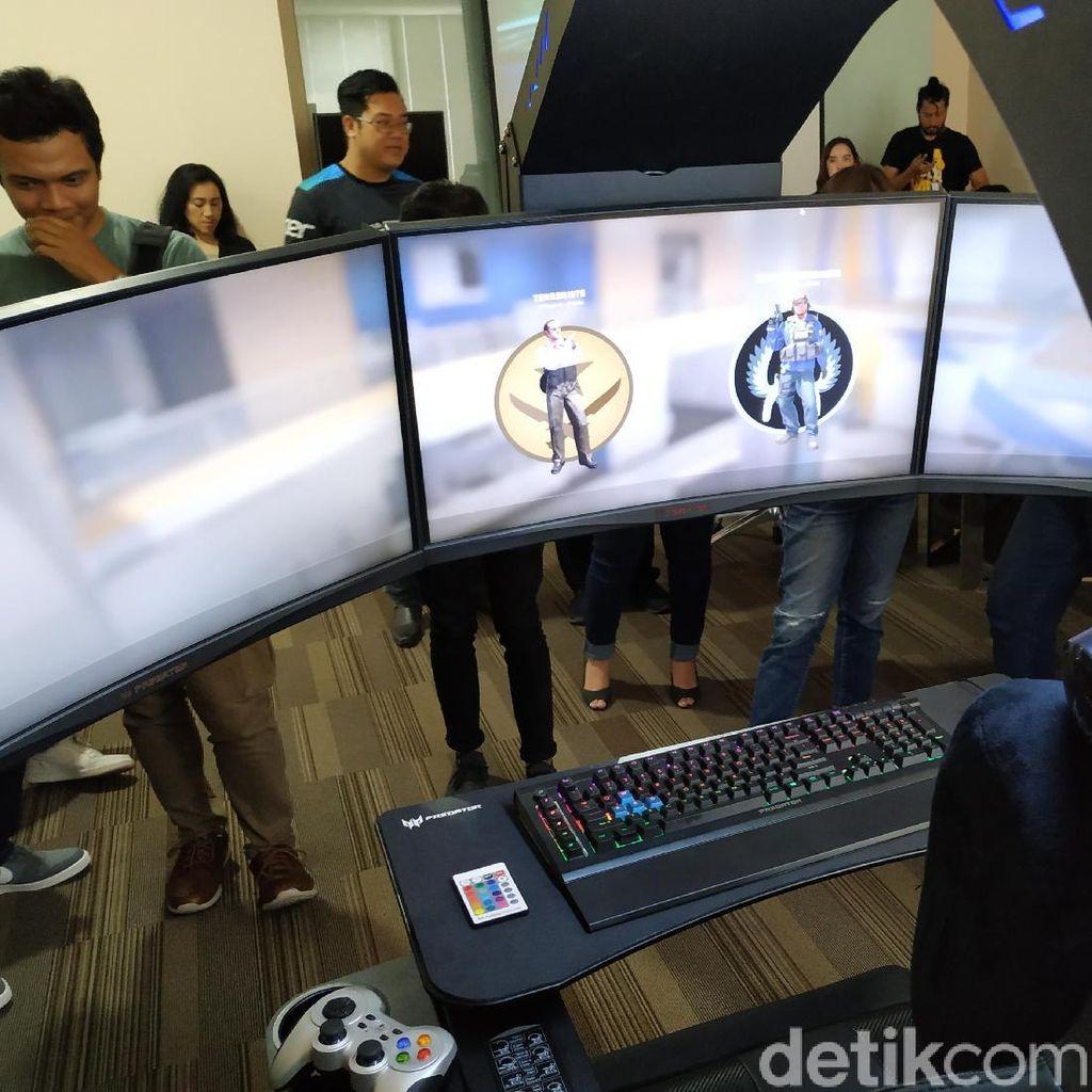 Kursi Gaming Rp 299 Juta Kelas Sultan, Gamer Indonesia Minat?