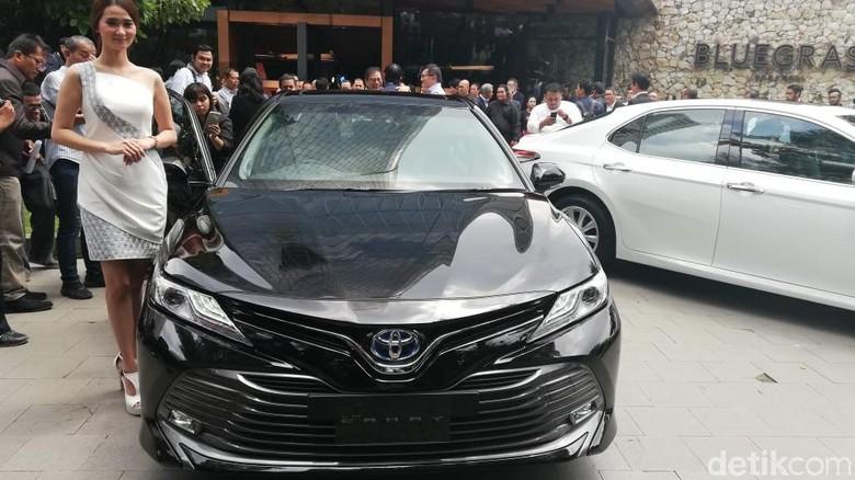 Toyota Camry 2019 Foto: Rizki Pratama