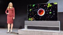 Keren! Televisi LG Bisa Digulung dan Ngumpet