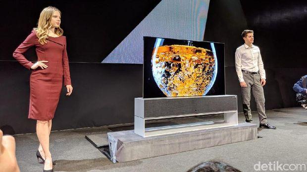 LG memperkenalkan televisi anyarnya di CES 2019