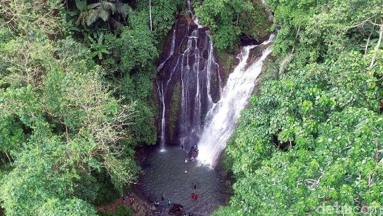 Air Terjun Limbong Kamandang di Sulbar (Abdy Febriady/detikTravel)