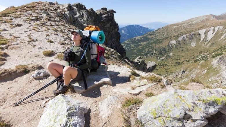 Ilustrasi pendaki gunung (iStock)
