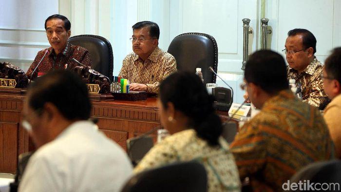 Rapat Terbatas di Istana/Foto: Rengga Sancaya