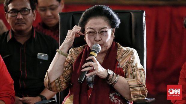 Megawati Soekarnoputri dinilai bisa menyatukan semua kalangan di PDIP.