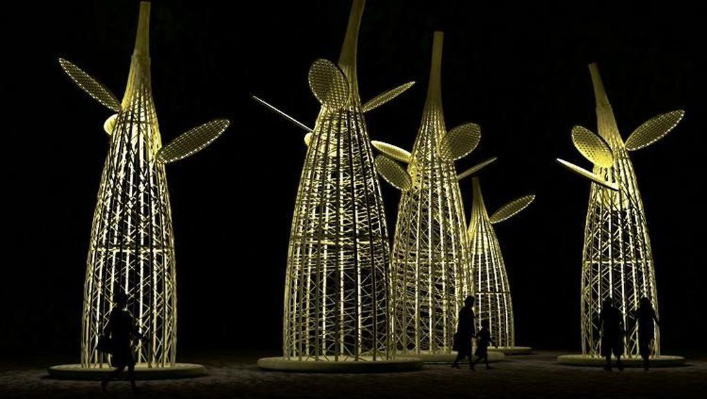 Mejeng di Singapura, Karya Eko Prawoto Tercipta Berkat Budaya Bambu