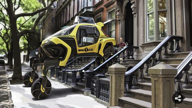 Seperti di Film, Ternyata Mobil Berjalan Kaki itu Ada