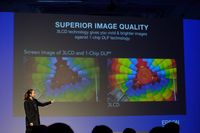 Epson Kenalkan Dua Proyektor Laser Terbaru di Thailand