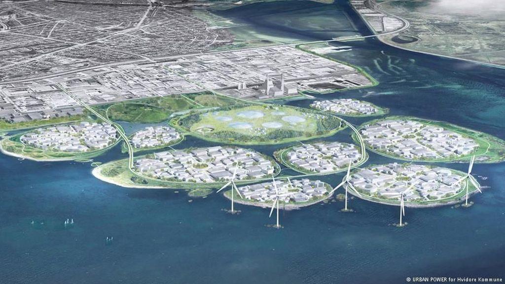 Pulau Buatan Denmark Siap Jadi Silicon Valley ala Eropa
