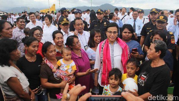 Sri Mulyani Siap Beri Insentif Demi Genjot Ekspor Maluku