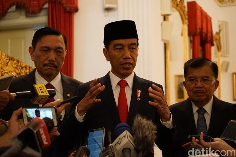 Jokowi: Kapolri Harus Tindak Tegas Pihak yang Delegitimasi KPU!