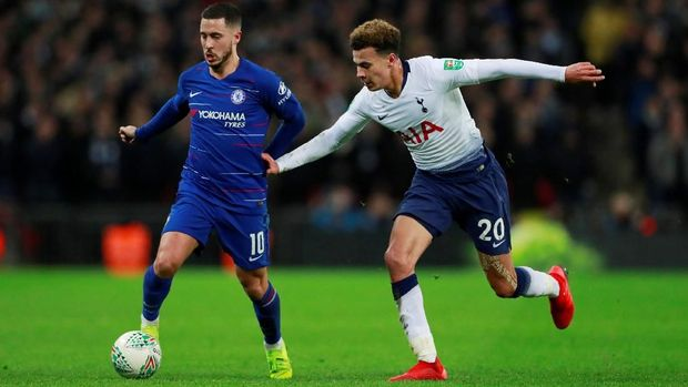 Eden Hazard kunci permainan Chelsea.
