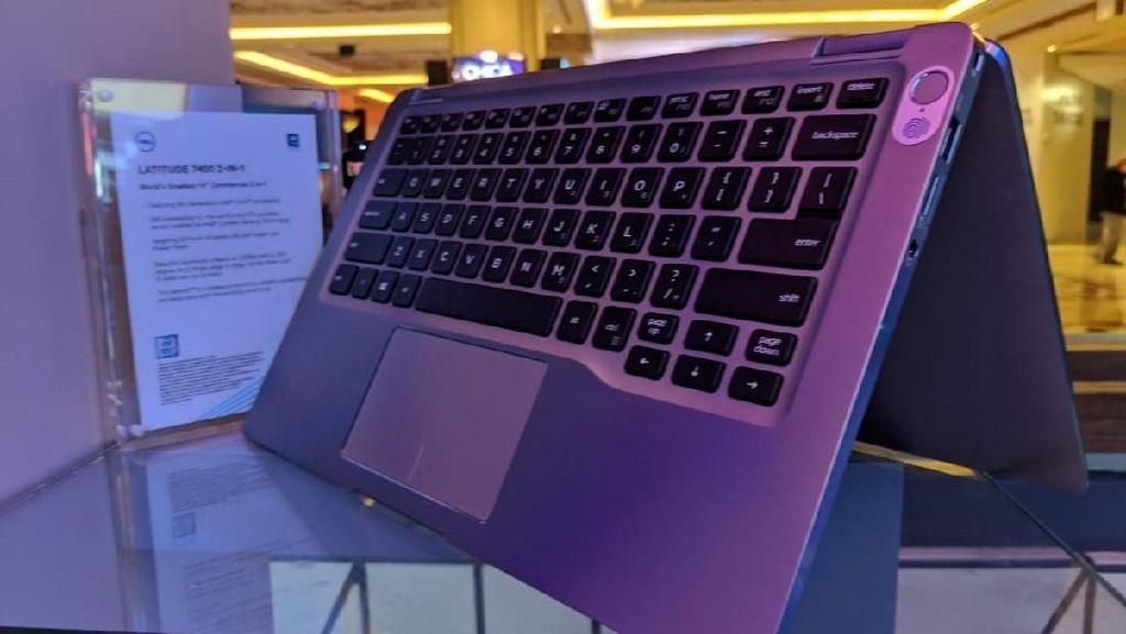 Penampakan Notebook Dell di Panggung CES 2019