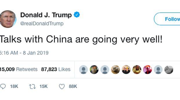 Nego Dagang Lanjutan AS-China Sementara Berakhir, Hasilnya?