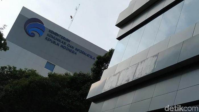 Gedung Kominfo. (Agus Tri Haryanto/detikINET)