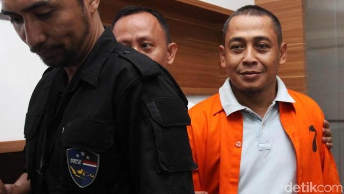 Pembuat hoax surat suara tercoblos, Bagus Bawana Putra. (Lamhot Aritonang/detikcom)