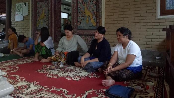 Rumah duka Cucu I Gusti Ngurah Rai. (dita/detikcom)