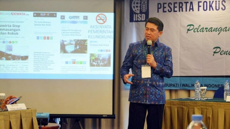 Desa Klungkung Bali Terapkan Kawasan Tanpa Rokok
