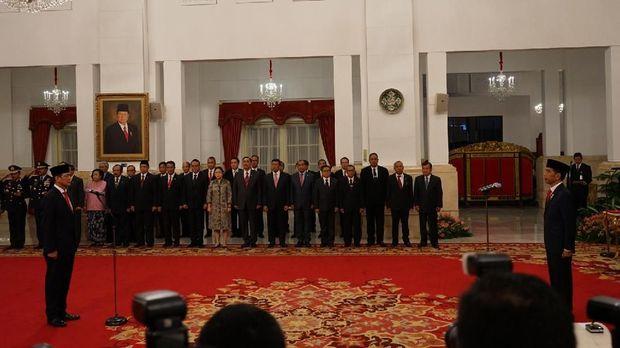 Letjen Doni Monardo Akhirnya Dilantik Jokowi