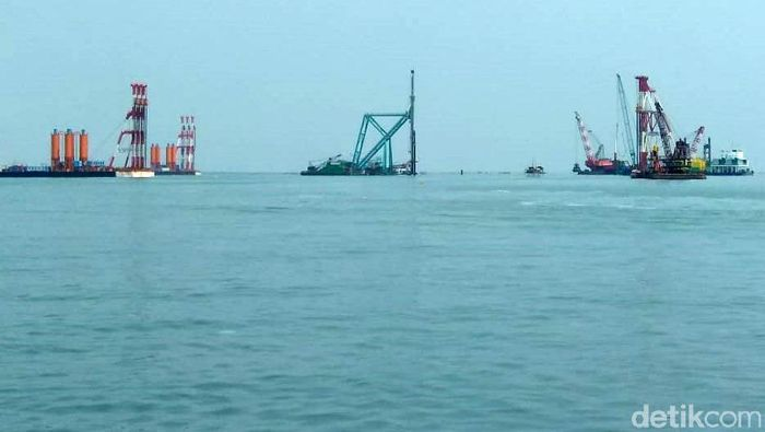 Proyek Pelabuhan Patimban/Foto: Trio Hamdani