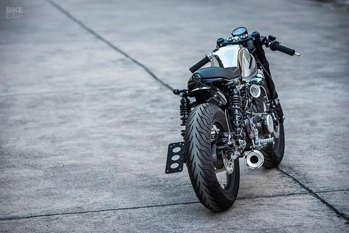 Tring, Honda Monkey Disulap Jadi Cafe Racer