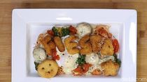 Resep Ayam: Angel Hair with Tomato Sauce and Fiesta Kids Series