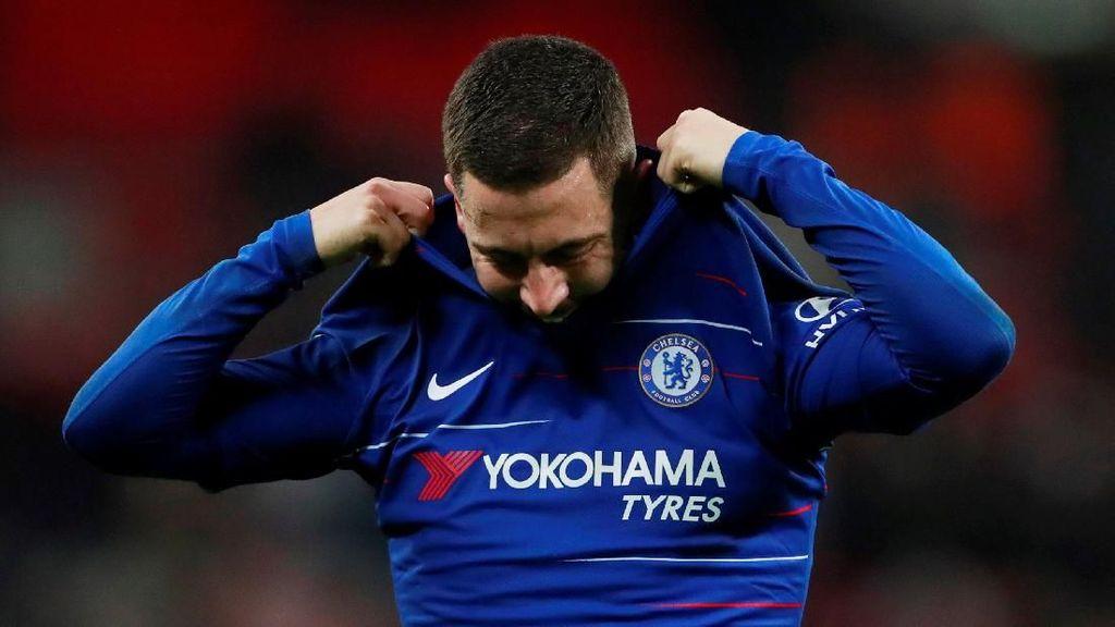 Mudah-mudahan Hazard Bertahan di Chelsea dan Tidak ke Madrid