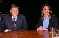 Bill Gates Ternayata Gunakan Rumus Untuk Potong Kue Pengantin