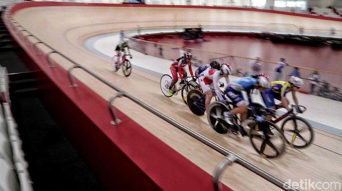 Ilustrasi balap sepeda. (Pradita Utama/detikSport)