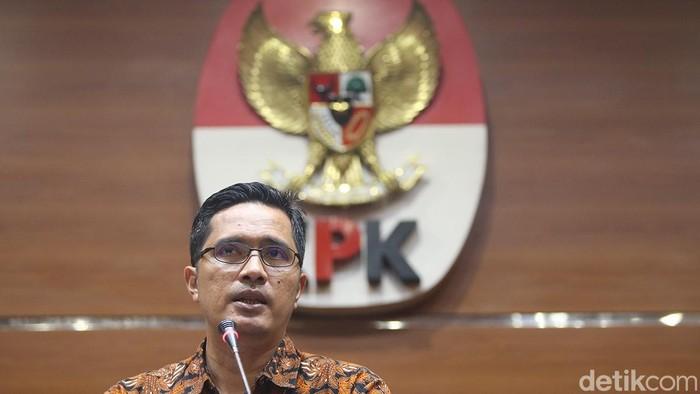 Kabiro Humas KPK Febri Diansyah (Foto: Ari Saputra-detikcom)
