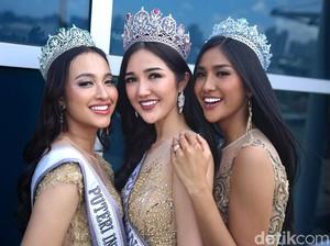 3 Ratu Kecantikan Dunia akan Meriahkan Pemilihan Puteri Indonesia 2019