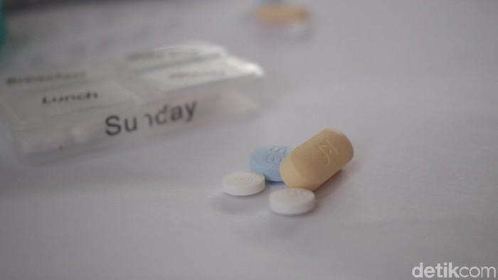 Obat ARV untuk pengidap HIV (Foto: Kireina/detikHealth)