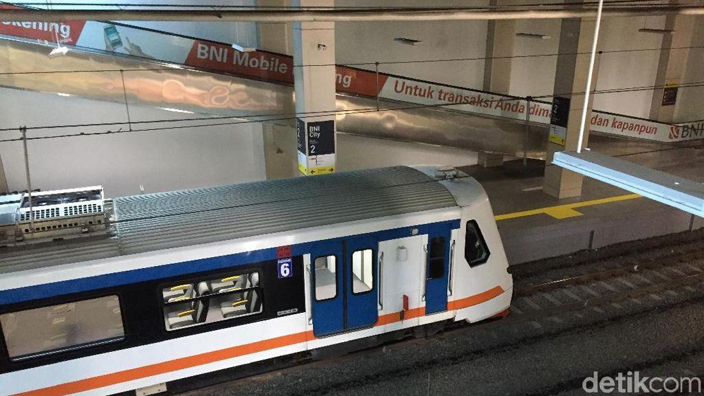 Dibilang Sepi, Begini Kondisi Kereta Bandara Soetta