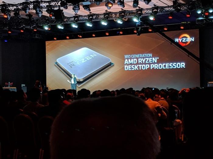 AMD mengungkap teaser Ryzen 3. Foto: Adi Fida Rahman/detikINET