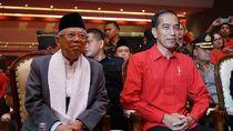 Jokowi-Maruf Amin Salat Magrib di Istana Sebelum Debat Pilpres