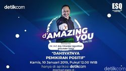 Tonton DAmazing You Dahsyatnya Positive Thinking Ary Ginanjar di Sini!