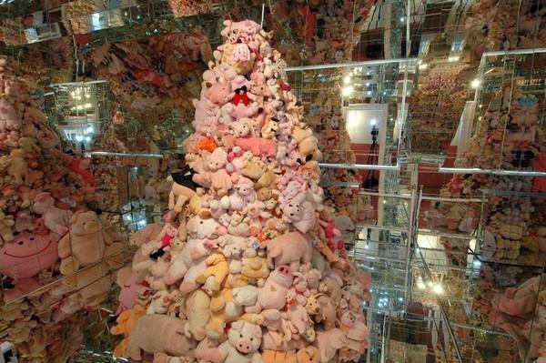 Pengunjung bisa belajar mengenai zoologi, seni, mitologi dan simbolisme tentang Babi (Schweinemuseum/Facebook)