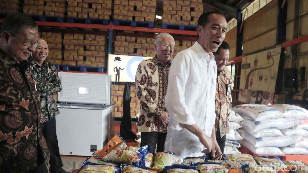 Pedagang Beras ke Jokowi: Tak Usah ke Pasar Nanti Dikira Pencitraan