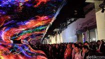 Warna-warni Layar OLED LG di CES 2019 yang Memukau