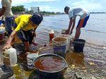 Solar Tumpah di Laut Parepare, Polisi akan Panggil Operator Tanker