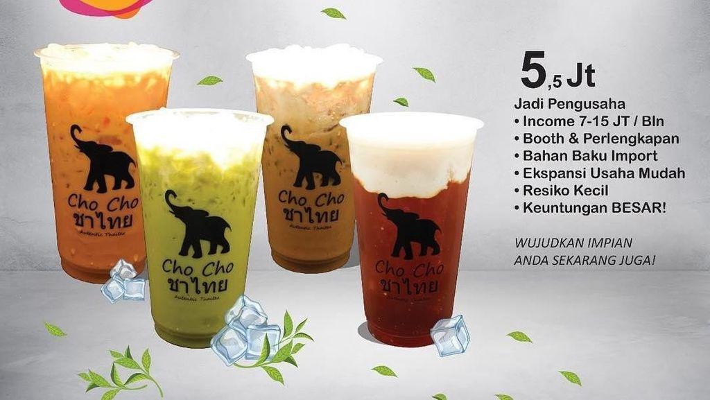 Punya Modal Kurang dari Rp 10 Juta Bisa Franchise Minuman Kekinian Ini