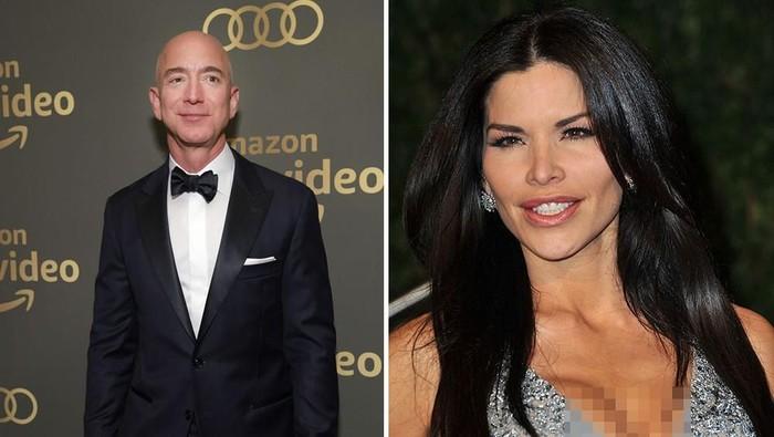 Jeff Bezos dan Lauren Sanchez. Foto: Getty Images
