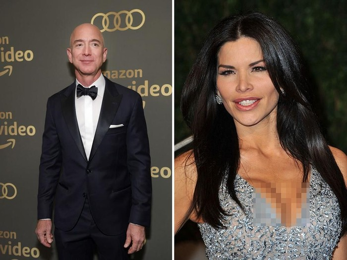 Jeff Bezos dan Lauren Sanchez Foto: Getty Images